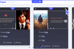 Capture d'écran pour Decktopus : Decktopus presentation creation