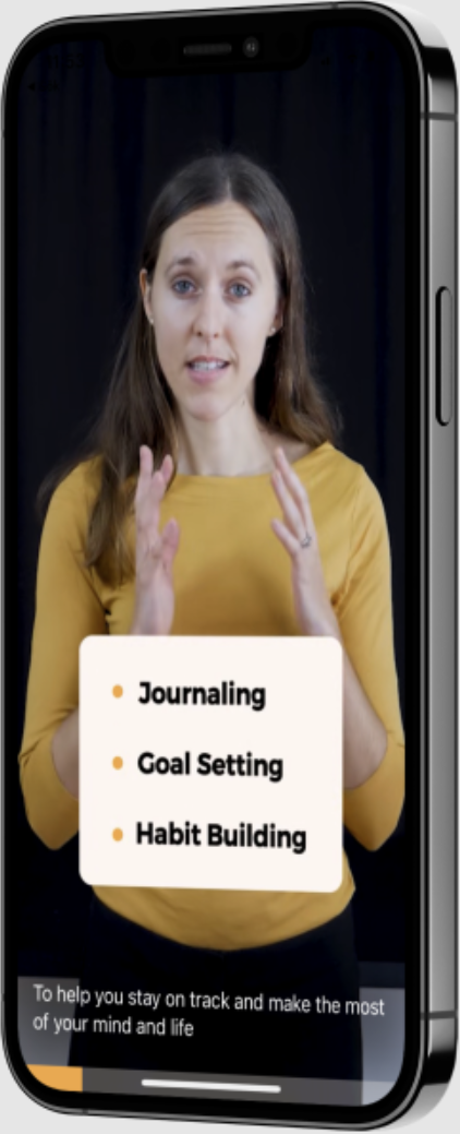Explore daily interactive video guides that kickstart your wellbeing journey.
