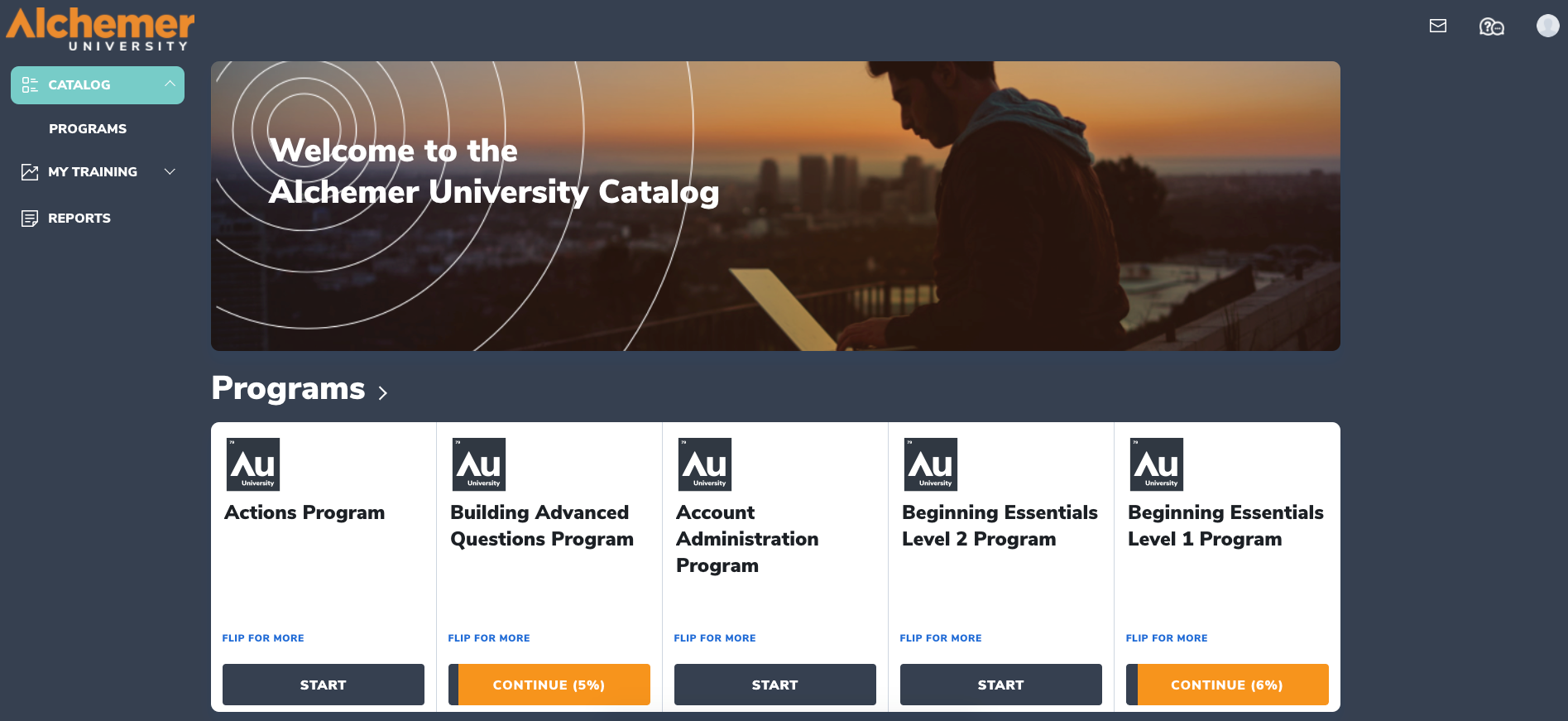 Alchemer Software - Alchemer University - Interactive e-learning, webinars, quizzes, certifications, and other recommended learning resources.