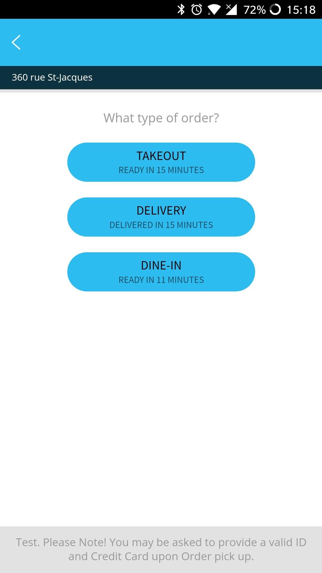 MYR POS Software - Mobile ordering application