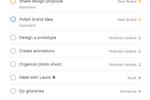 Todoist Screenshot: Todoist to-do list