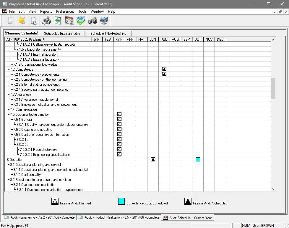 Waypoint Global audit manager