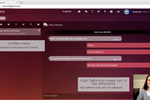 uContact screenshot: Communicate through multiple channels including web chat and video calls