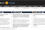 Capture d'écran pour IntelligenceBank Boards : Live media feeds on your company, the industry or competitors.