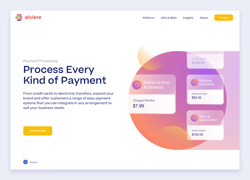 Alviere Payment Processing