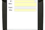 Capture d'écran pour StockPro : Goods Issue Screen