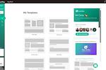 LiveTiles screenshot: LiveTiles custom templates screenshot