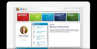 SilkRoad Learning Software - Talent portal