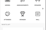 Captura de pantalla de Socio: Create a custom mobile app for attendees, speakers, and sponsors
