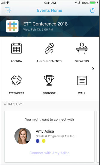 Create a custom mobile app for attendees, speakers, and sponsors