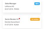 Capture d'écran pour Talentcube : Talentcube job applications