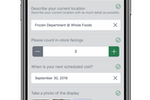 Capture d'écran pour GoSpotCheck : Digitize processes & help teams complete tasks quickly on mobile while giving you the data & visual confirmation you need about conditions across your locations.