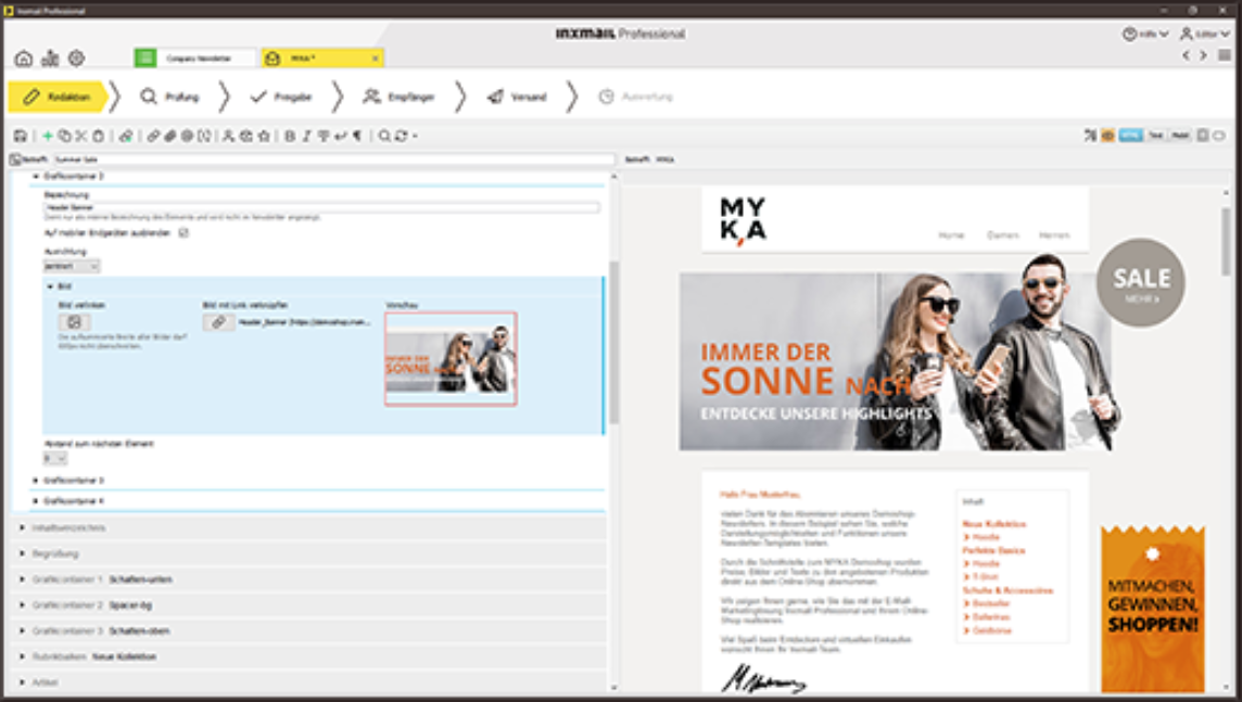 Inxmail professional