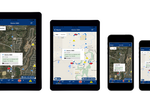 Rhino Fleet Tracking screenshot: Access Rhino Fleet Tracking from any device using the iOS and android apps
