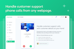 Channels screenshot: Click-to-Call Widget - make calls from any webpage you're on.