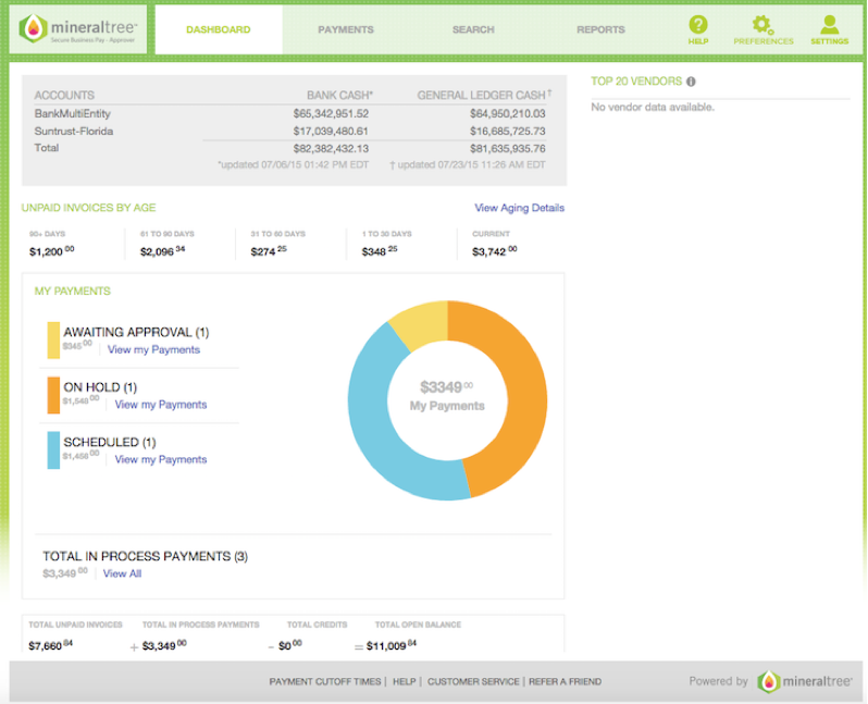 MineralTree Invoice-to-Pay Software - 5