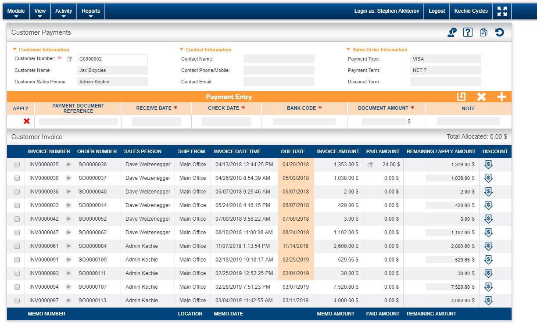 Kechie Software - Finance