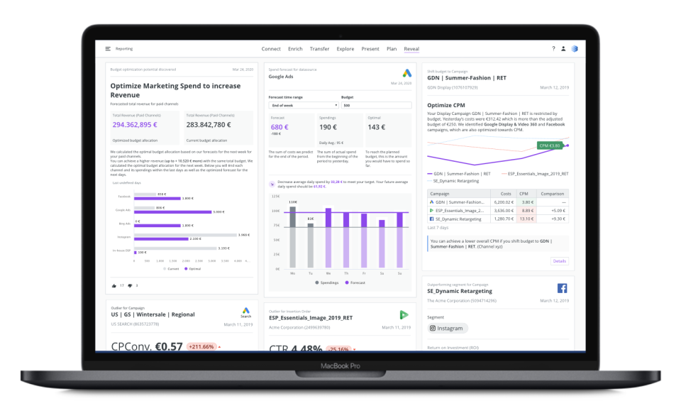 Adverity Software - Augmented Analytics
