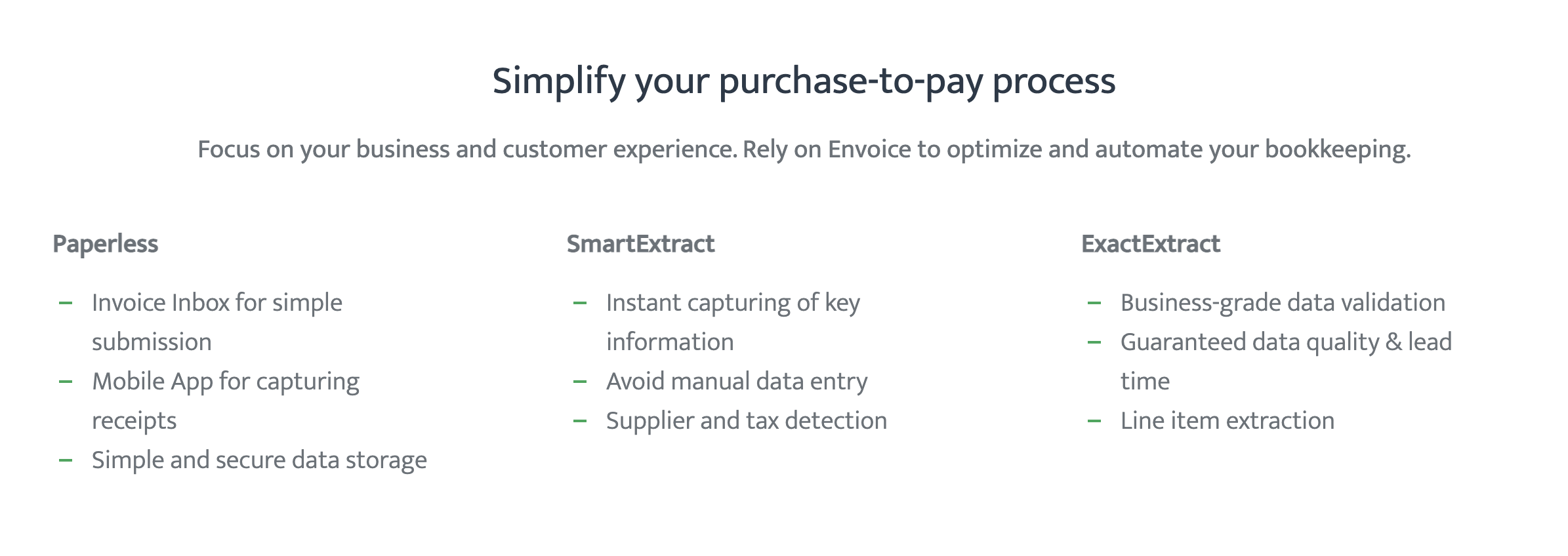 Simplify your purchase-to-pay process