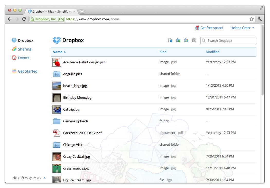 Dropbox Business Software - 2