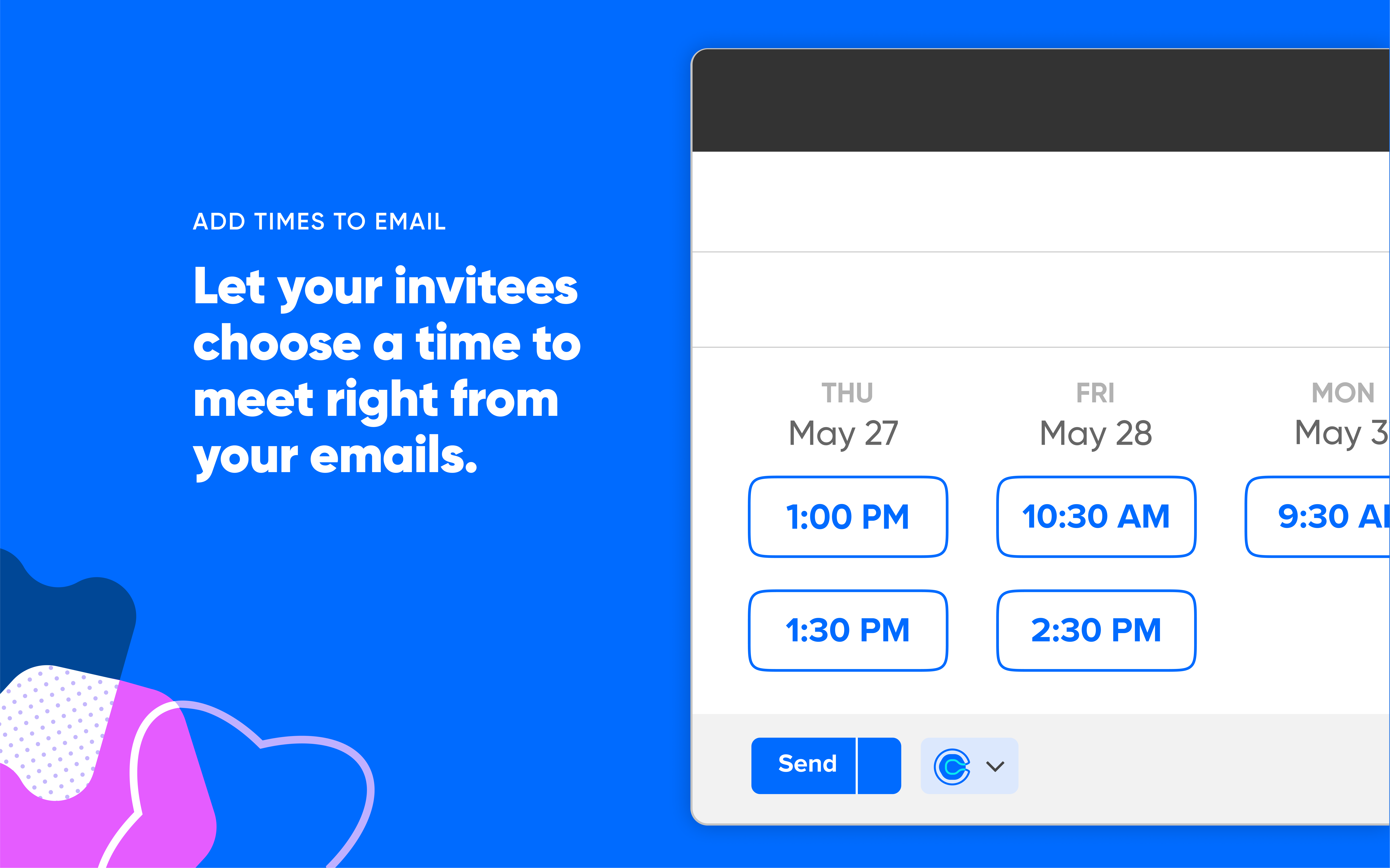 Calendly Software - Book right from emails