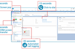 InGenius screenshot: Fuel new efficiencies with the productivity-enhancing features of InGenius computer telephony integration.