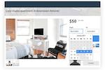 sharetribe screenshot: Sharetribe booking functionality screenshot