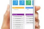 ABIS screenshot: Organize tasks and get a quick business overview in the dashboard