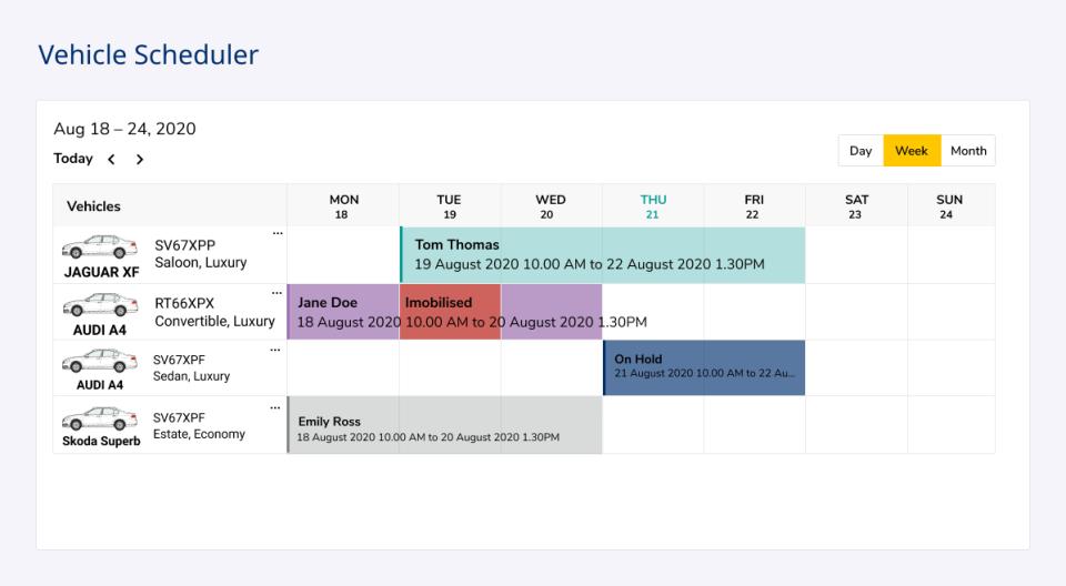 Coastr Software - Intelligent Scheduling