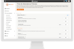 Workteam Time & Attendance screenshot: Configurable policies that you can assign to different groups of staff.