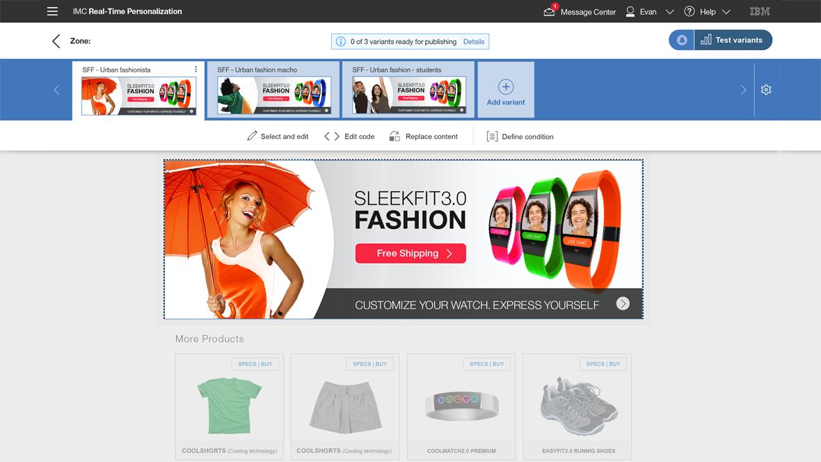 Visual Personalization Management