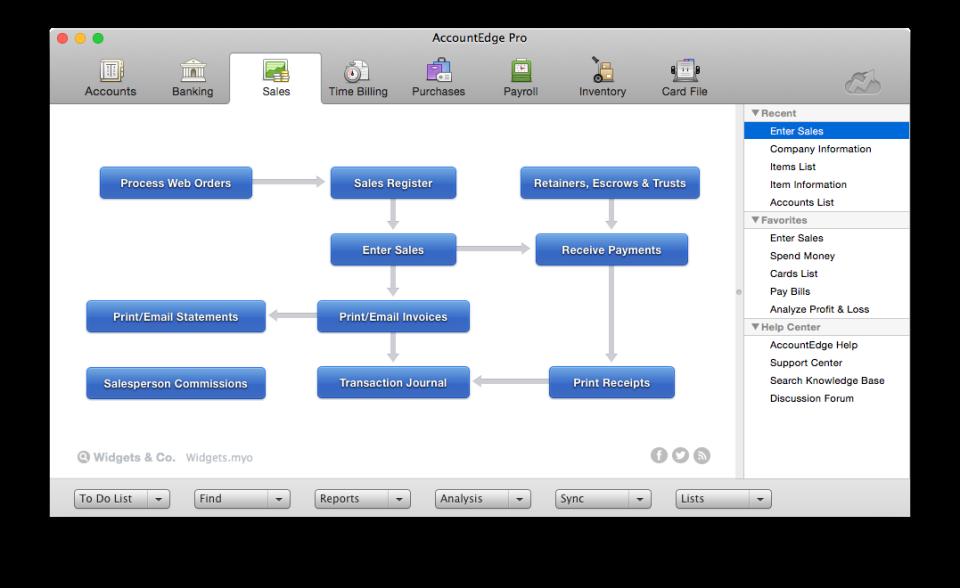 AccountEdge Software - 1
