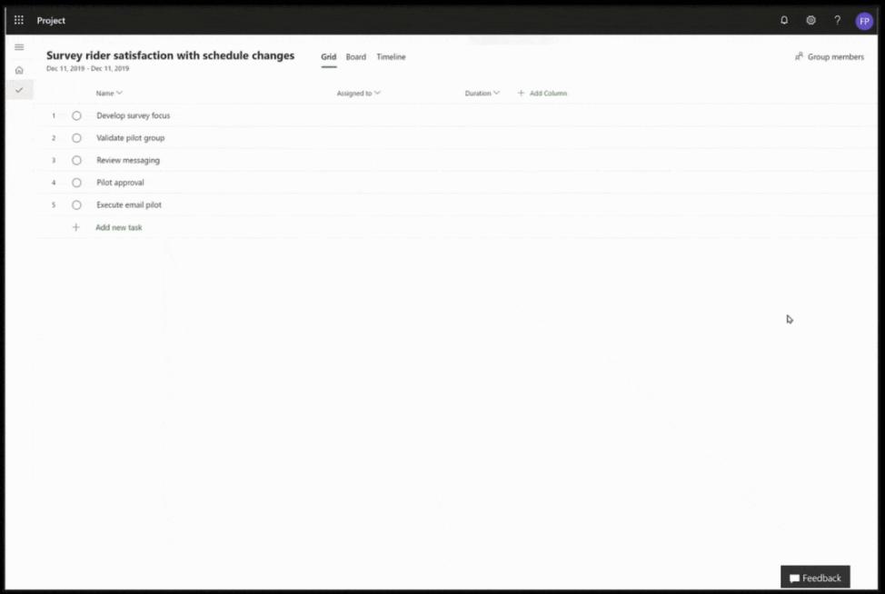 Microsoft Project Software - 4