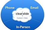 Capture d'écran pour ClearSlide :