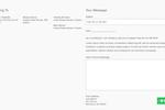 Muster screenshot: Muster email broadcasting