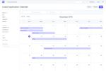 Captura de tela do ERPNext: ERPNext Leave Management Calendar
