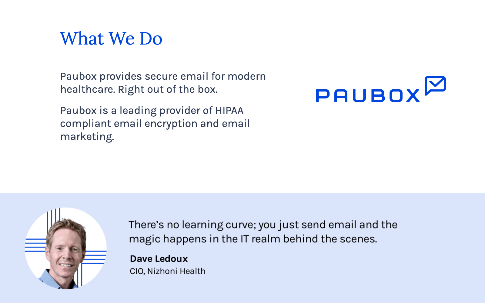 Paubox Email Suite Software - 1