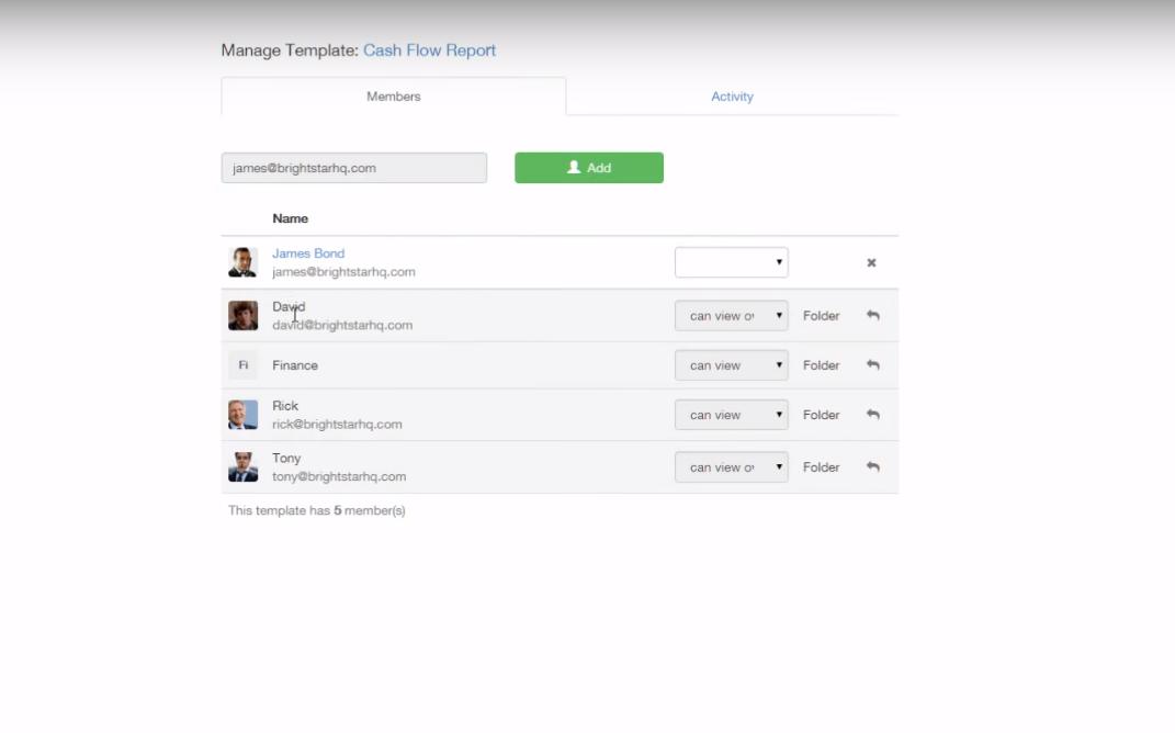 Process Street Software - Cash-flow report