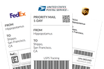 Shippo screenshot: Shipping labels can be printed directly from within Shippo