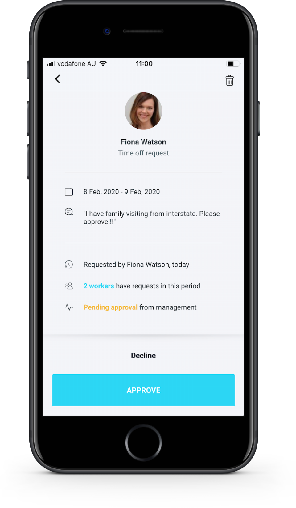 SocialSchedules Software - Free mobile apps for workers and managers