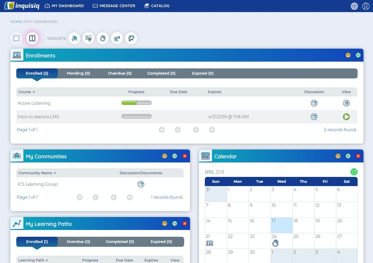 Inquisiq Software - The system comes equipped with versatile features that cater to any type of organization that requires employee training – it is inherently scalable to grow and expand with your organization over the coming years.