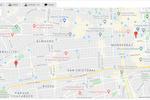 TeamDesk Screenshot: Map View example