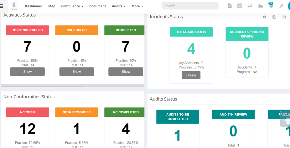 BUILDING IN ONE SYSTEM DASHBOARD