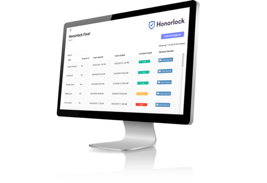 Honorlock LMS integration