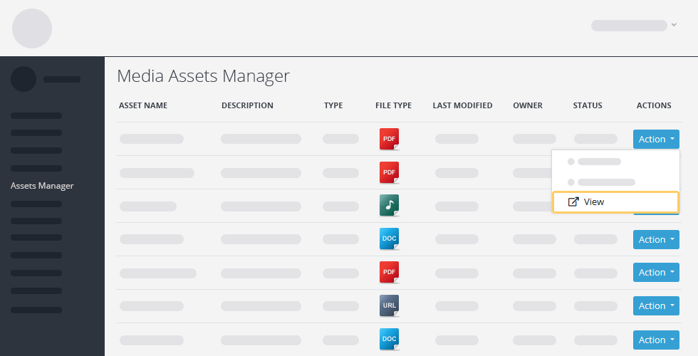 Crises Control media asset manager screenshot