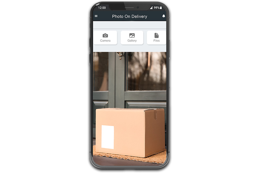 Photo-on-delivery enables you to provide the same confidence and proof of delivery that customers expect when they order online.