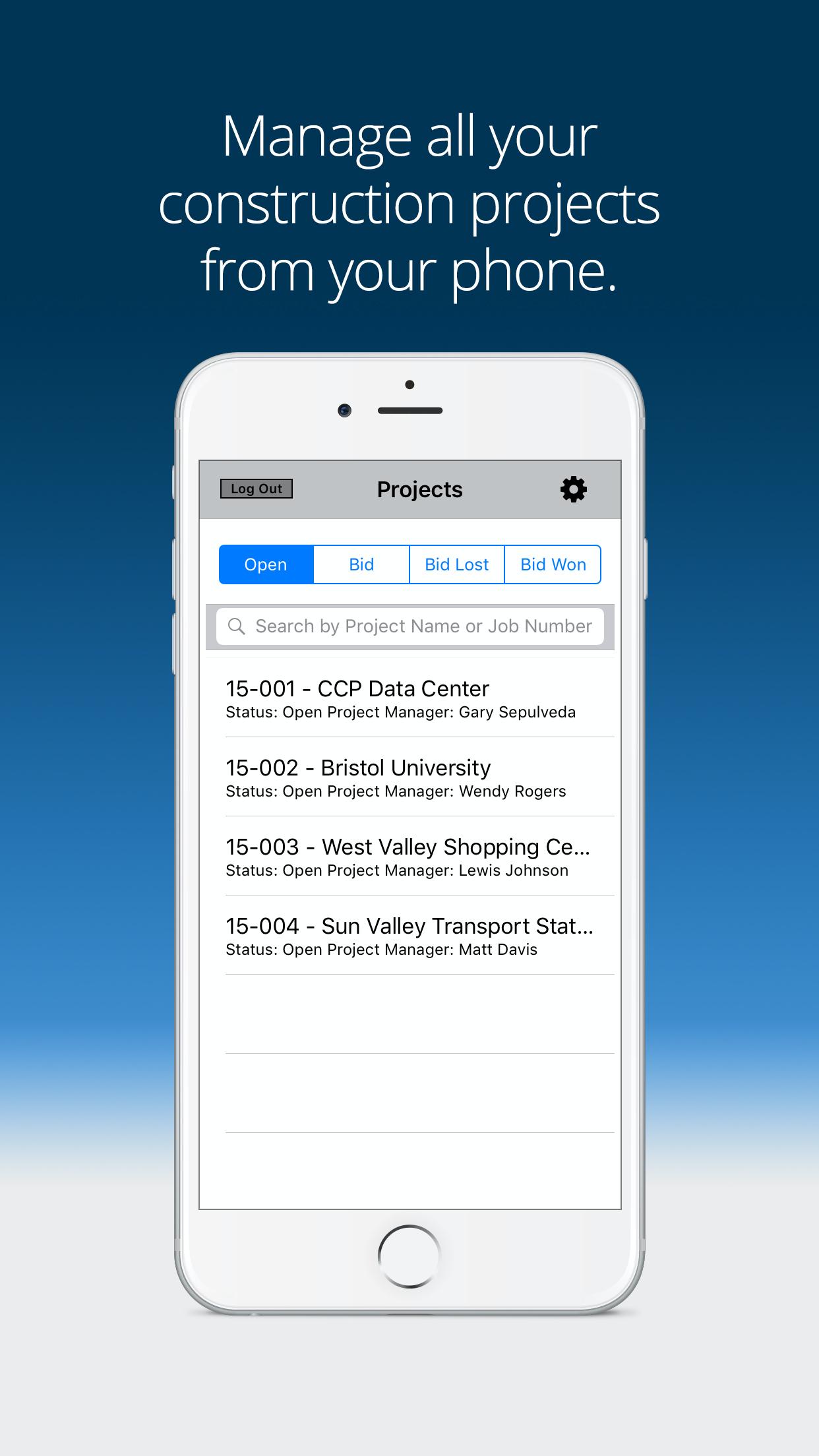 Mobile project management