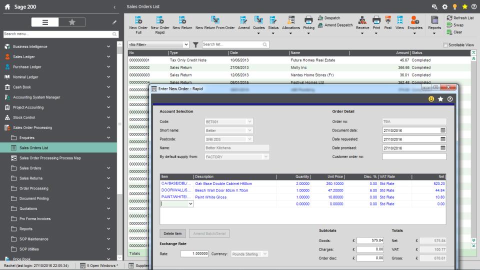 Sage 200cloud Software - 1