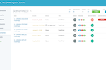 9teams screenshot: Scenarios are being used to define, document and plan Activate roadmaps for S/4HANA transition  A typical transition has 5 main phases. Each phase is documented in detail in 9TEAMS.