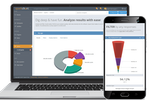 Spark Chart Screenshot: The reporting feature provides detailed survey analytics